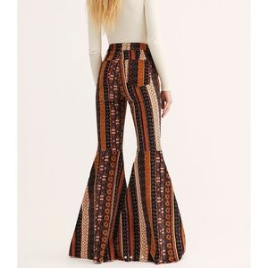 FREE PEOPLE JUST FLOAT ON FLARE CORDUROY PANTS 28